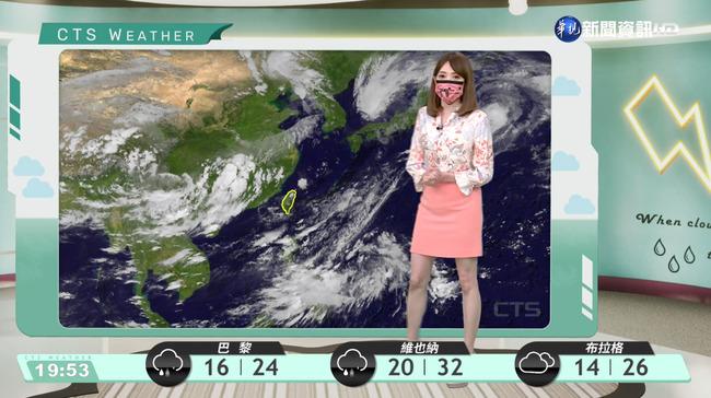 高氣壓逐漸增強 中南部雨減緩 | 華視新聞