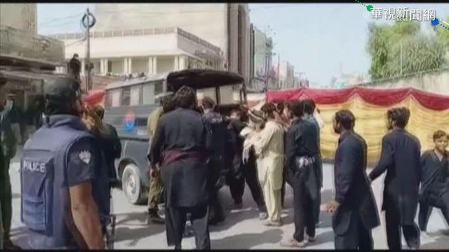 巴基斯坦遊行炸彈爆炸 至少3死50餘傷   華視新聞
