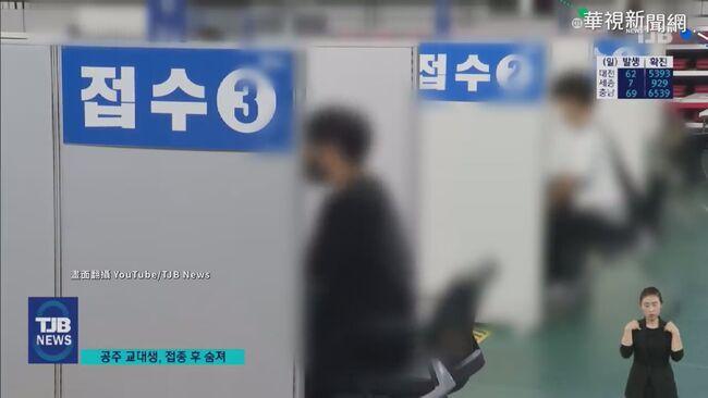 南韓年輕人接種BNT 接連發生猝死案例 | 華視新聞