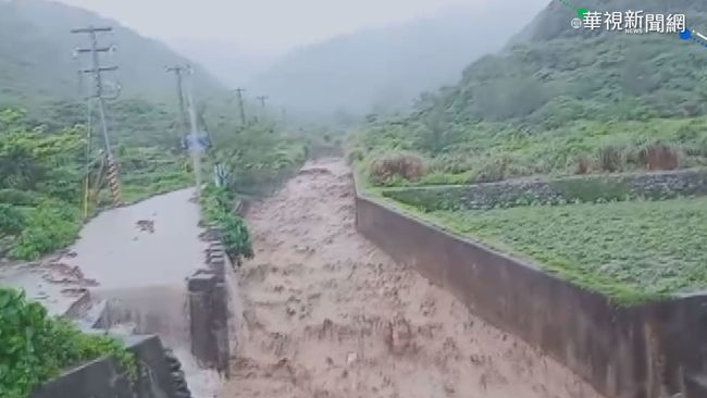 璨樹來勢洶洶! 宜花民眾預防性撤離 | 華視新聞