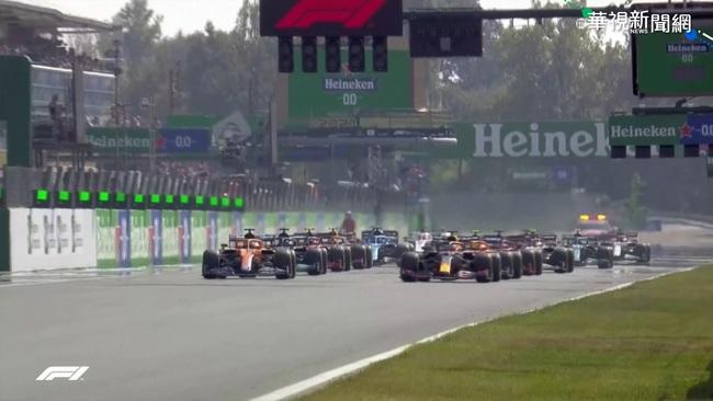 F1積分前2名卡位相撞 被迫退賽再結冤 | 華視新聞