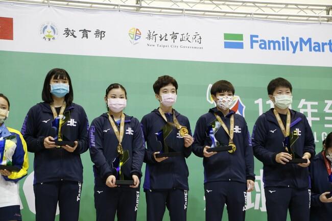 110全國運動會 桌球女團金牌出爐 臺北市成功鍍金 | 華視新聞