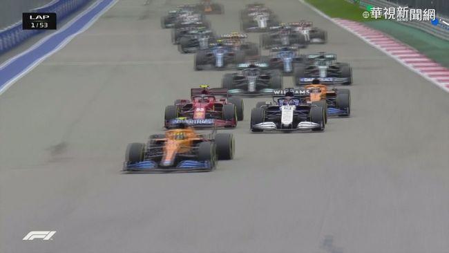 錯判形勢 21歲車手Norris輸掉F1首勝   華視新聞