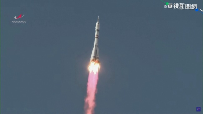 俄羅斯劇組升空 拍攝人類首部太空電影! | 華視新聞