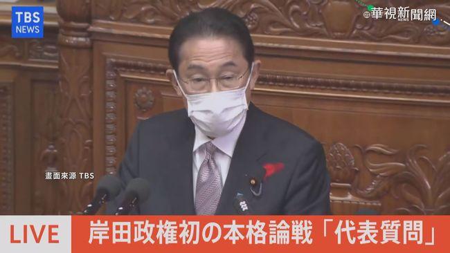 上任後首備詢 岸田文雄:台灣是重要夥伴   華視新聞
