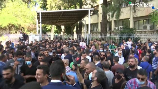 黎巴嫩街頭示威傳槍擊 至少6死30傷 | 華視新聞